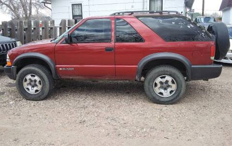 2001 Chevrolet Blazer for sale at Good Guys Auto Sales in Cheyenne WY