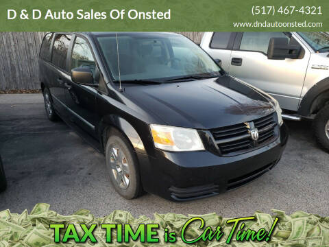 2008 Dodge Grand Caravan for sale at D & D Auto Sales Of Onsted in Onsted   Brooklyn MI