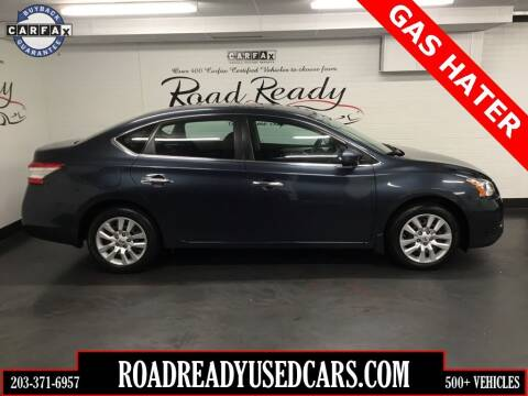 2014 Nissan Sentra for sale at Road Ready Used Cars in Ansonia CT
