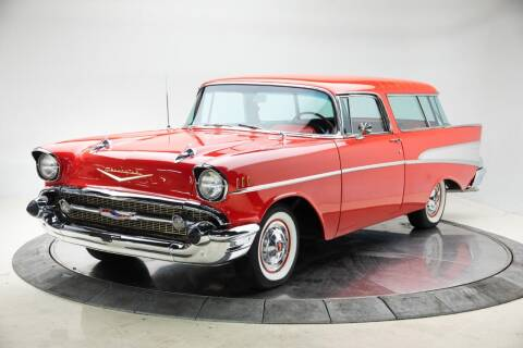 1957 Chevrolet Nomad for sale at Duffy's Classic Cars in Cedar Rapids IA