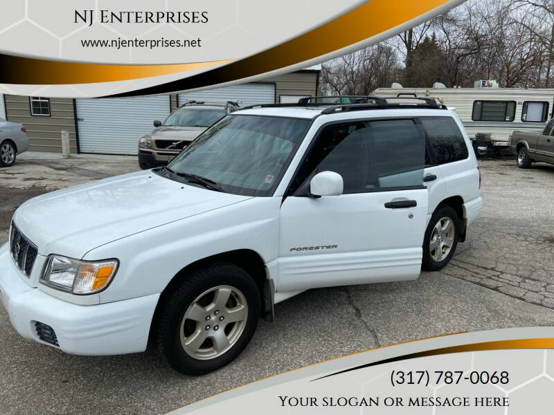 2001 Subaru Forester for sale at NJ Enterprises in Indianapolis IN