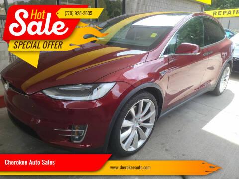 2016 Tesla Model X for sale at Cherokee Auto Sales in Acworth GA