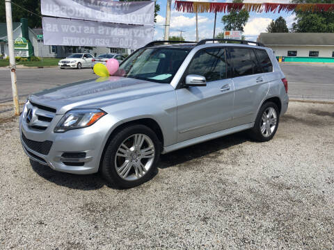 2014 Mercedes-Benz GLK for sale at Antique Motors in Plymouth IN