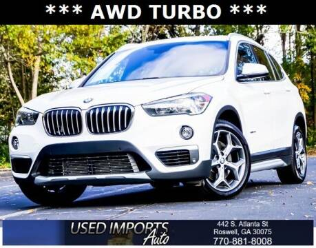 2018 BMW X1 for sale at Used Imports Auto in Roswell GA