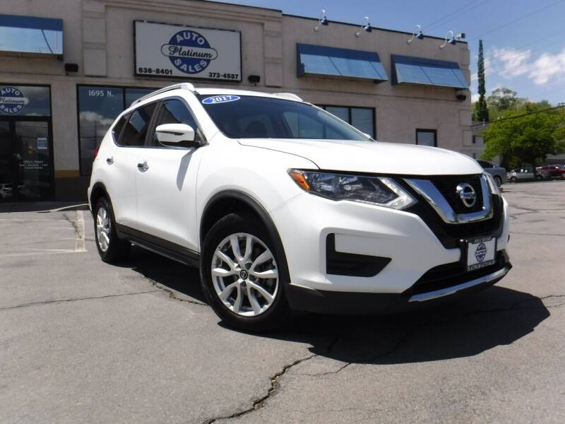 2017 Nissan Rogue for sale at Platinum Auto Sales in Provo UT