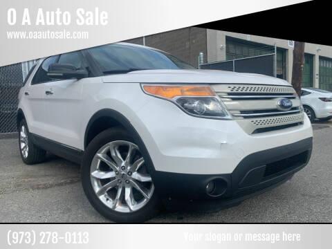 2011 Ford Explorer for sale at O A Auto Sale in Paterson NJ
