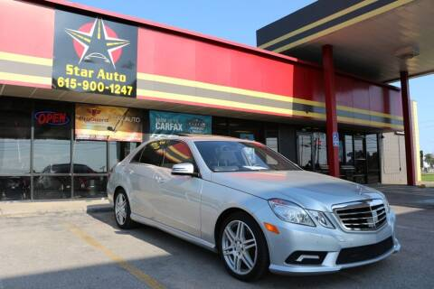 2010 Mercedes-Benz E-Class for sale at Star Auto Inc. in Murfreesboro TN