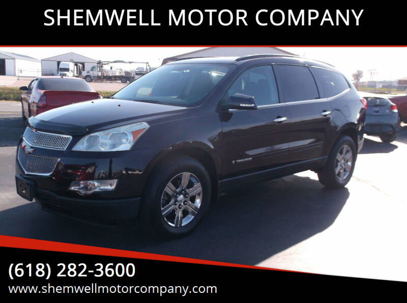 2009 Chevrolet Traverse for sale at SHEMWELL MOTOR COMPANY in Red Bud IL