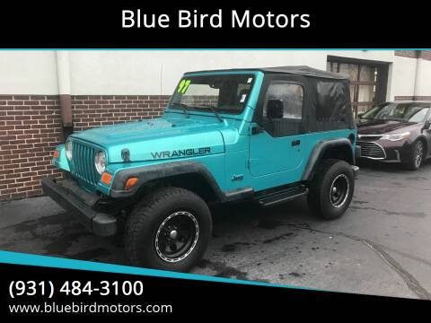 1997 Jeep Wrangler for sale at Blue Bird Motors in Crossville TN