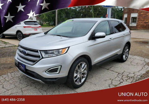 2016 Ford Edge for sale at Union Auto in Union IA