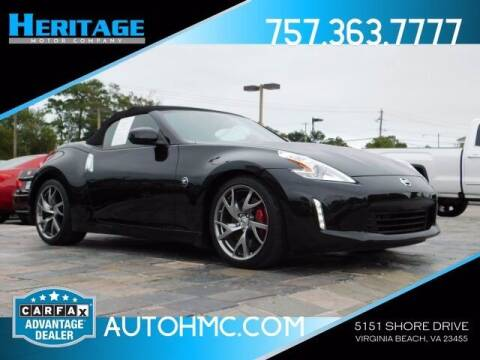 2017 Nissan 370Z for sale at Heritage Motor Company in Virginia Beach VA