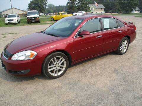 2008 Chevrolet Impala for sale at D & T AUTO INC in Columbus MN