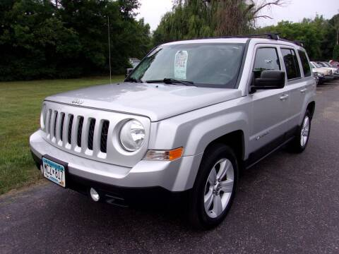 2011 Jeep Patriot for sale at American Auto Sales in Forest Lake MN