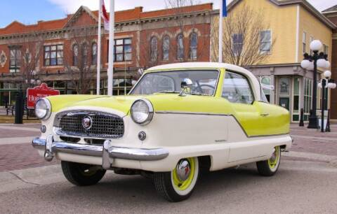 1957 Nash Metropoiltan for sale at Classic Car Deals in Cadillac MI