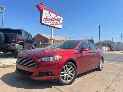 2014 Ford Fusion for sale at Southwest Car Sales in Oklahoma City OK