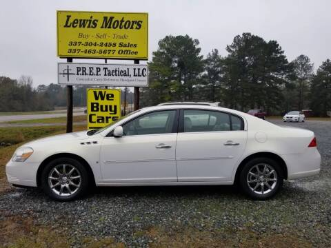 2007 Buick Lucerne for sale at Lewis Motors LLC in Deridder LA