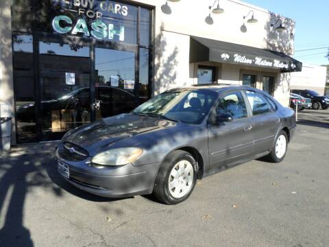 2003 Ford Taurus for sale at Wilson-Maturo Motors in New Haven Ct CT
