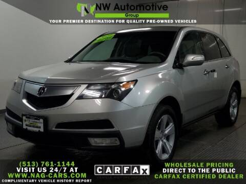 2010 Acura MDX for sale at NW Automotive Group in Cincinnati OH