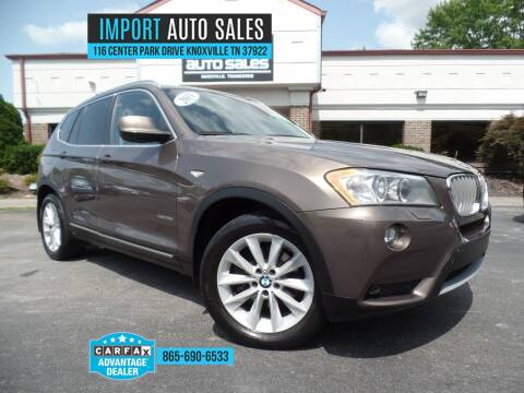 2011 BMW X3 for sale at IMPORT AUTO SALES in Knoxville TN