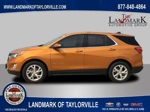 2019 Chevrolet Equinox for sale at LANDMARK OF TAYLORVILLE in Taylorville IL