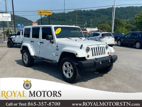 2013 Jeep Wrangler Unlimited for sale at ROYAL MOTORS LLC in Knoxville TN