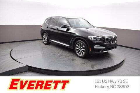 2019 BMW X3 for sale at Everett Chevrolet Buick GMC in Hickory NC