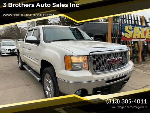 2011 GMC Sierra 1500 for sale at 3 Brothers Auto Sales Inc in Detroit MI