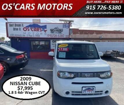 2009 Nissan cube for sale at Os'Cars Motors in El Paso TX