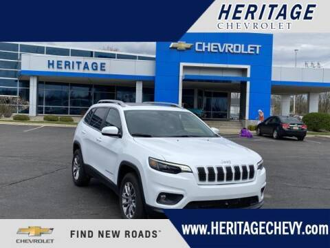 2020 Jeep Cherokee for sale at HERITAGE CHEVROLET INC in Creek MI
