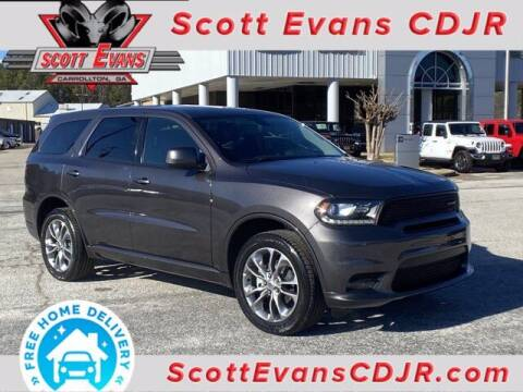 2020 Dodge Durango for sale at SCOTT EVANS CHRYSLER DODGE in Carrollton GA