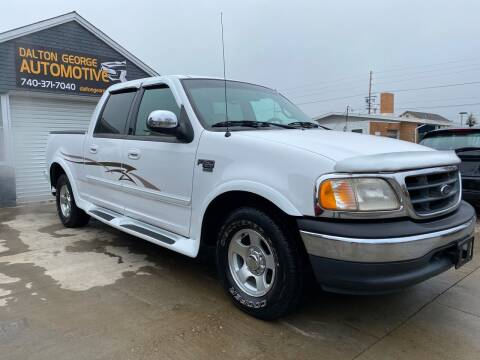 2001 Ford F-150 for sale at Dalton George Automotive in Marietta OH