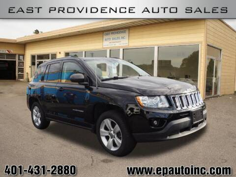 2012 Jeep Compass for sale at East Providence Auto Sales in East Providence RI