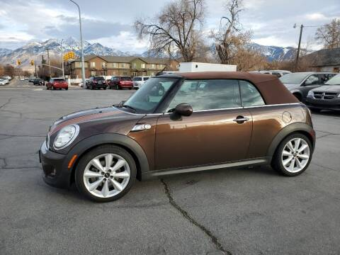 2012 MINI Cooper Convertible for sale at UTAH AUTO EXCHANGE INC in Midvale UT