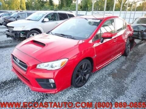 2017 Subaru WRX for sale at East Coast Auto Source Inc. in Bedford VA