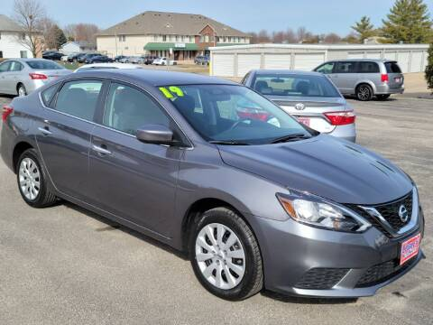 2019 Nissan Sentra for sale at Cooley Auto Sales in North Liberty IA
