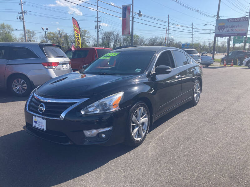 2015 Nissan Altima for sale at Majestic Automotive Group in Cinnaminson NJ
