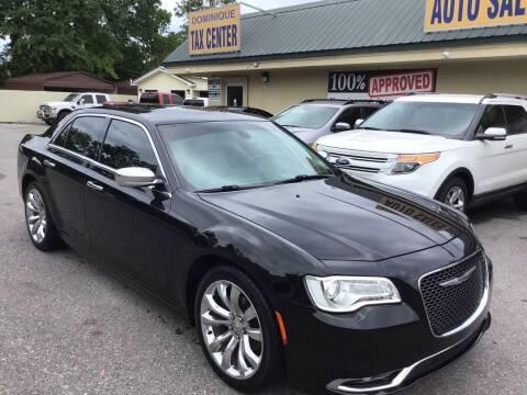 2015 Chrysler 300 for sale at Dominique Auto Sales in Opelousas LA