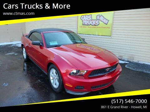 2011 Ford Mustang for sale at Cars Trucks & More in Howell MI