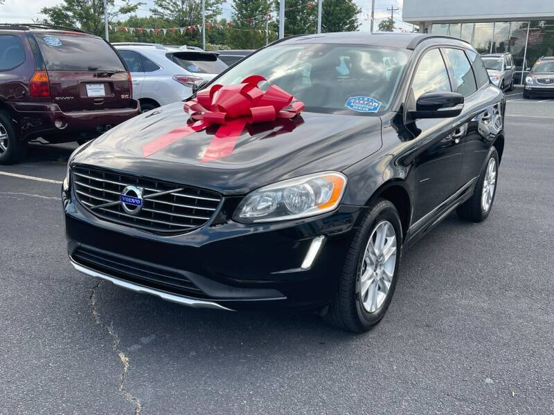 2015 Volvo XC60 for sale at Charlotte Auto Group, Inc in Monroe NC