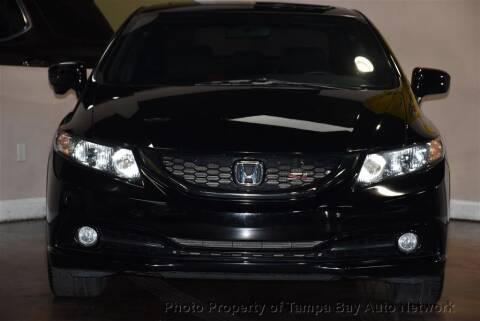 2015 Honda Civic for sale at Tampa Bay AutoNetwork in Tampa FL