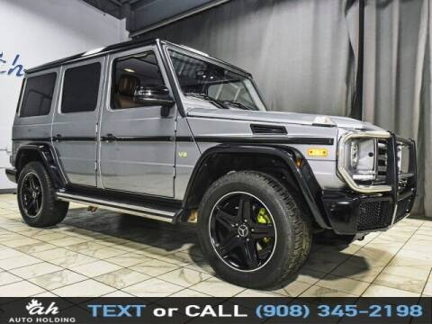 2018 Mercedes-Benz G-Class for sale at AUTO HOLDING in Hillside NJ