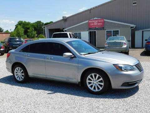 2014 Chrysler 200 for sale at Macrocar Sales Inc in Akron OH