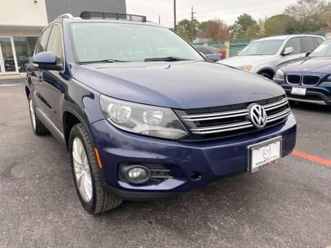 2013 Volkswagen Tiguan for sale at KAYALAR MOTORS in Houston TX