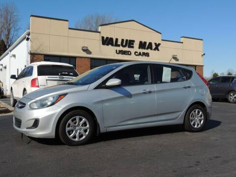 2012 Hyundai Accent for sale at ValueMax Used Cars in Greenville NC