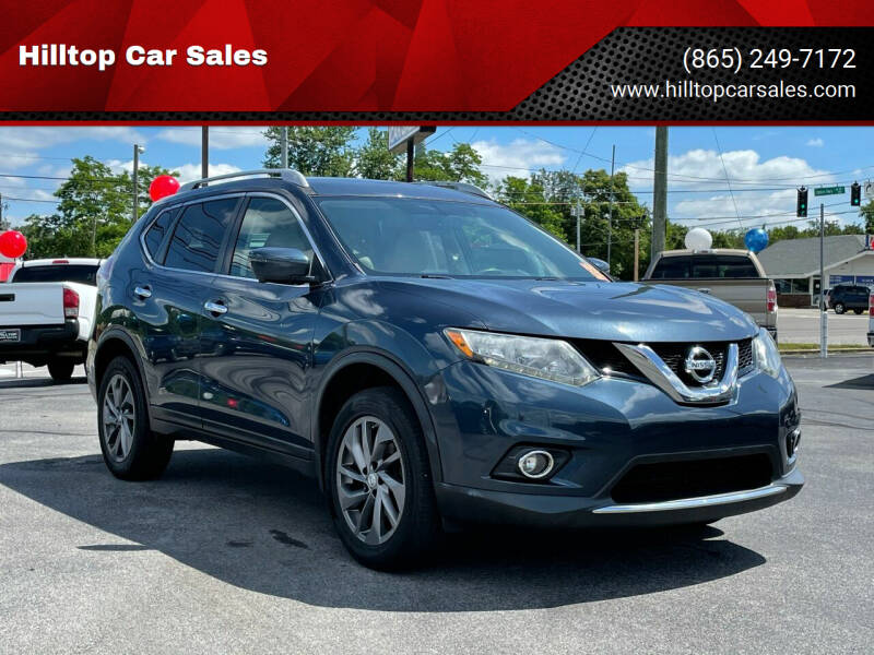 2016 Nissan Rogue for sale at Hilltop Car Sales in Knox TN