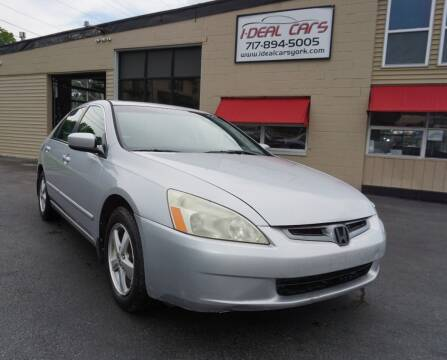 2004 Honda Accord for sale at I-Deal Cars LLC in York PA