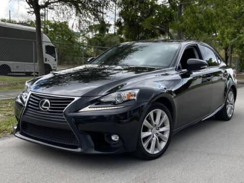 2016 Lexus IS 200t for sale at Palermo Motors in Hollywood FL