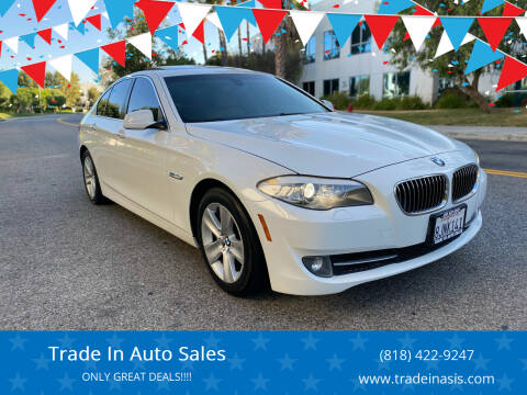 2013 BMW 5 Series for sale at Trade In Auto Sales in Van Nuys CA