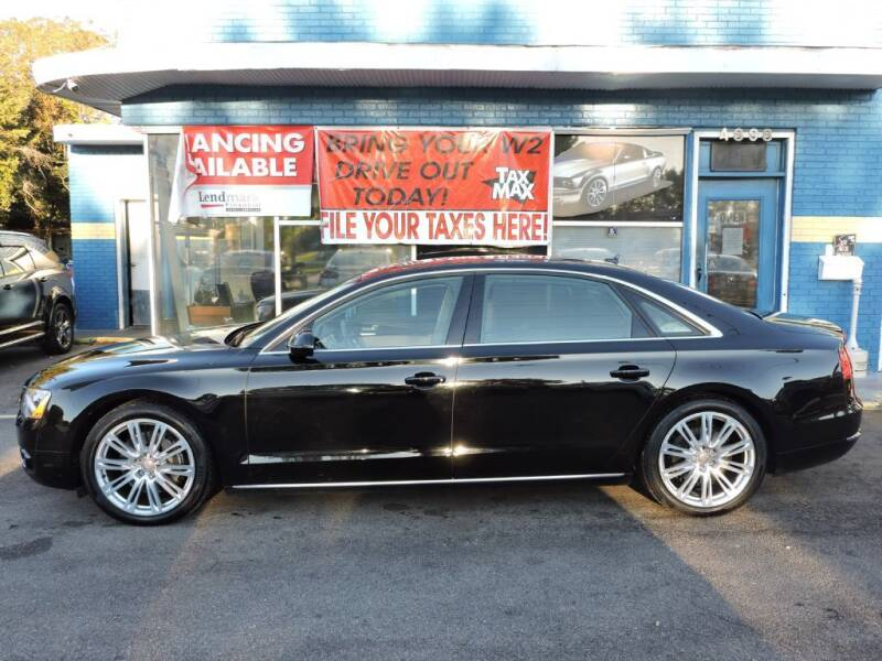 2014 Audi A8 L for sale at Drive Auto Sales & Service, LLC. in North Charleston SC