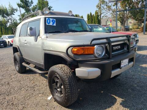 2009 Toyota FJ Cruiser for sale at Universal Auto Sales in Salem OR